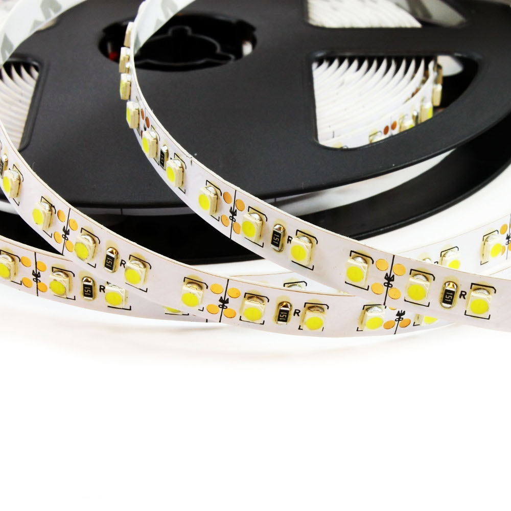 5m led streifen leiste band strip mit 600 smd warmwei. Black Bedroom Furniture Sets. Home Design Ideas