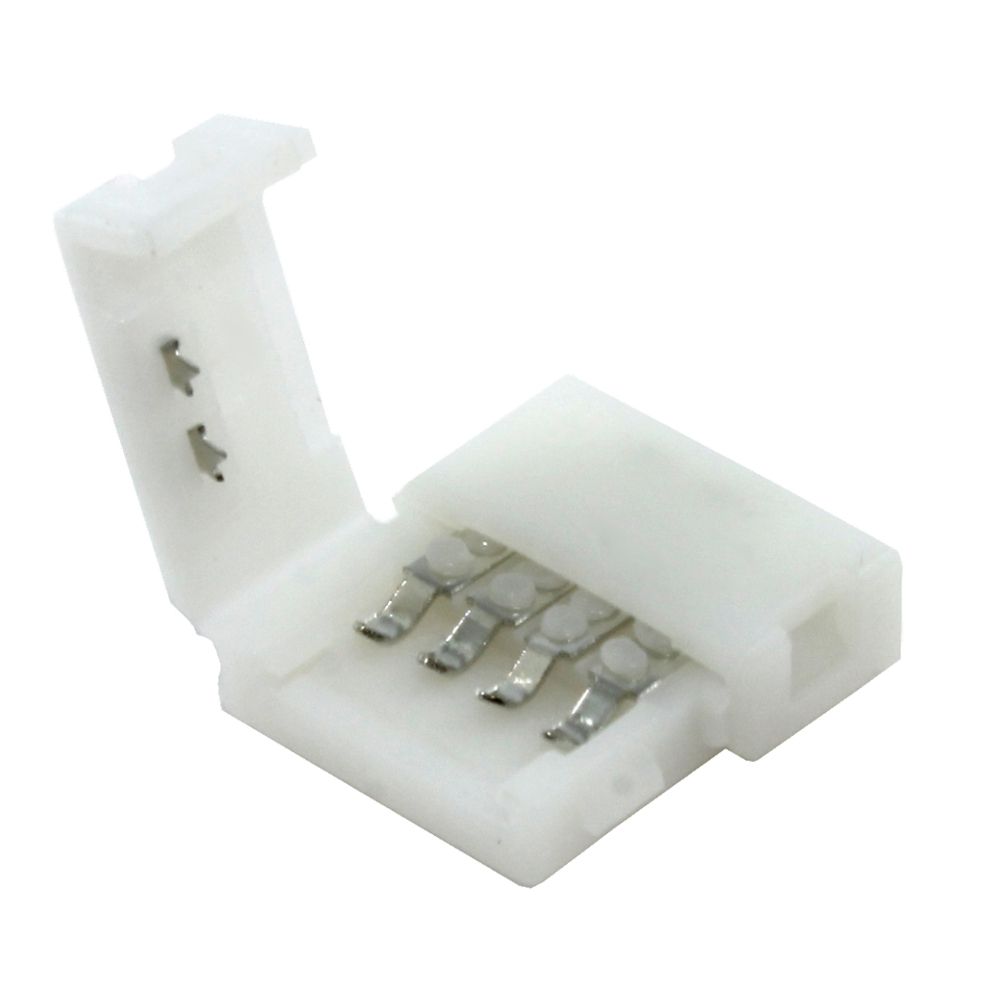 rgb led schnellverbinder steckverbinder verbinder zwischen controller. Black Bedroom Furniture Sets. Home Design Ideas