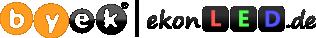 Logo Byek Handels GmbH und Logo ekonLED.de