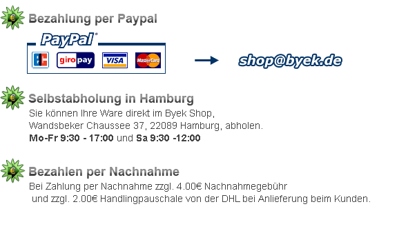 PayPal & Selbstabholung